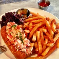 Photo taken at Ed's Lobster Bar by ALCHEMIQ Catering on 1/18/2013