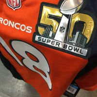 Photo taken at Denver Broncos Team Store by Peter K. on 2/3/2016
