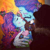Photo taken at Yves Laroche Galerie D'Art by Alexia B. on 4/11/2013