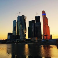 Photo taken at Башня на набережной (Блок С) by Мария Т. on 8/3/2014