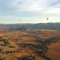 Photo taken at Hot Air Balloon Over Napa by Koji K. on 11/22/2015