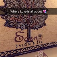 Photo taken at Eden Salon & Spa by Phroooha on 7/5/2016
