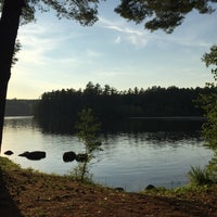 Photo taken at Friends Lake by Alexandra L. on 8/18/2015