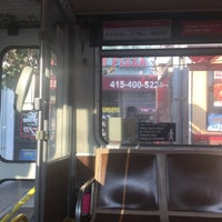 Photo taken at SF MUNI - 24 Divisadero by cbcastro on 9/19/2016