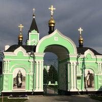 Photo taken at Браиловский Свято-троицкий женский монастырь by Yu T. on 5/9/2016