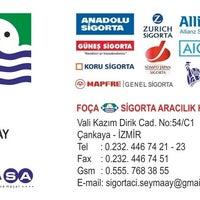 Photo taken at Foça Sigorta Aracılık Hizmetleri by Şeyma S. on 12/7/2013