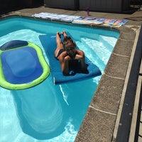 Photo taken at Morgan's piscina by Morgan M. on 7/29/2014