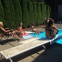 Photo taken at Morgan's piscina by Morgan M. on 8/18/2014