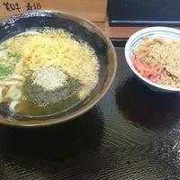 Photo taken at つるまる饂飩 ピオレごちそう館店 by YoShiHiRo_96 on 2/11/2017