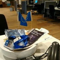 Photo taken at EDIC - Europe Direct Information Centre Emmen by Wian on 1/29/2014