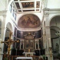 Photo taken at San Giovanni Crisostomo by A E. on 10/29/2012