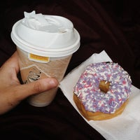 Photo taken at MJ's donuts by Rebecca on 12/29/2013