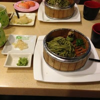 Photo taken at Sakae Sushi by Noel on 3/22/2013