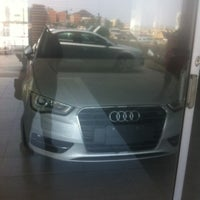 Photo taken at Audi Center by Itzel B. on 8/2/2014