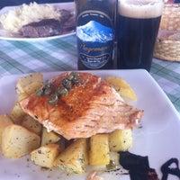 "Photo taken at Restaurant & Cafeteria ""El Mirador"" by Carlota F. on 8/4/2014"