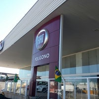 Photo taken at Fiat Poligono by Rodrigo C. on 7/4/2014