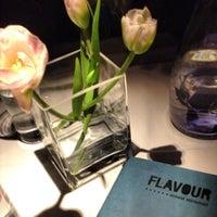 Photo taken at FLAVOUR Weinbar Restaurant by Thomas T. on 11/17/2013