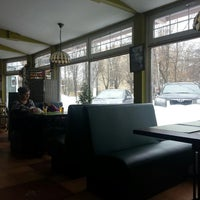 Photo taken at IQ Cafe by Pavel M. on 3/17/2013