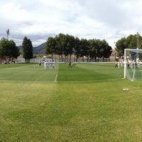 """Photo taken at Campo de Futbol   Antonio Martinez """"El Morao"""" by jose carlos g. on 4/14/2013"""