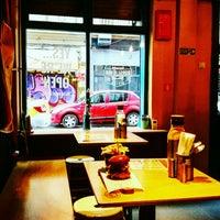 Photo taken at Burger Van Bistro by Florishel on 10/8/2016