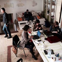 Photo taken at Impact Hub Siracusa by Vincenzo D. on 4/15/2014