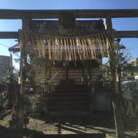 Photo taken at 大國主神社 (大国主神社・善光寺七福神 大黒天) by Satoru on 12/31/2015