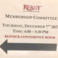 Photo taken at REBNY by Corinne P. on 12/8/2017