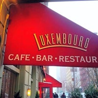 Photo taken at Cafe Luxembourg by Corinne P. on 3/3/2015