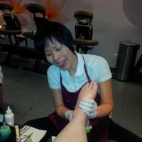 Photo taken at Serendipity Nails by Corinne P. on 5/7/2014