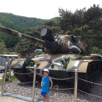 Photo taken at 백골병단전적비 by DAESOO C. on 5/23/2015