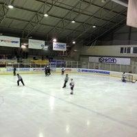 Photo taken at Ледовый Стадион by Evg K. on 4/23/2014