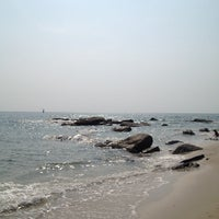 Photo taken at Hua Hin Beach by (◕‿‿◕。) (. on 3/28/2014