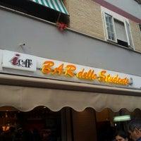 Photo taken at Bar dello Studente by Massimiliano C. on 9/29/2012