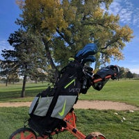 Photo taken at Overland Park Golf Course by Mas T. on 10/21/2016