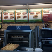 Photo taken at Subway Outlet Del Bosque by Samuel B. on 3/9/2014