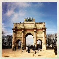 Photo taken at Arc de Triomphe du Carrousel by Michelle A. on 5/9/2013