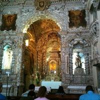 Photo taken at Igreja Nossa Senhora da Conceição dos Militares by Vitor C. on 9/23/2012