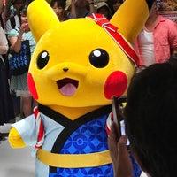Photo taken at Pokémon Center Mega Tokyo by Risa K. on 8/13/2016
