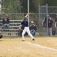 Photo taken at Millbridge Baseball Field by Gregory T. on 4/28/2014