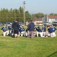 Photo taken at Millbridge Baseball Field by Gregory T. on 5/8/2014