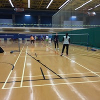 Photo taken at Kowloon Bay Sports Centre 九龍灣體育館 by Ming C. on 1/8/2016