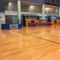 Photo taken at Tsing Yi Sports Centre 青衣體育館 by Ming C. on 10/16/2016