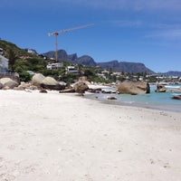 Photo taken at Clifton 2nd Beach by Evija V. on 11/15/2016