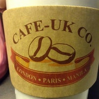 Photo taken at Cafe-UK Co. by JV M. on 11/17/2013