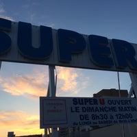 Photo taken at Super U by Nora-christelle M. on 4/23/2014