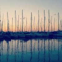 Photo taken at Funtana marina by Chiara on 8/10/2013