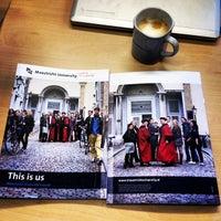 Photo taken at Bestuursgebouw Universiteit Maastricht by Wang Z. on 7/1/2014