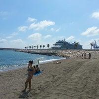 Foto tomada en Playa de La Farola por Goga C. el 9/11/2013