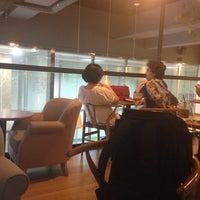 Photo taken at Café NESCAFÉ by HABI on 7/23/2014
