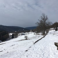 Photo taken at Strážné by Kateřina K. on 2/26/2017
